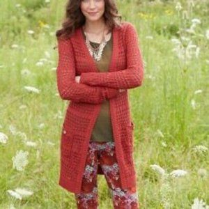 Matilda Jane Secret Fields Henna Crochet Cardigan